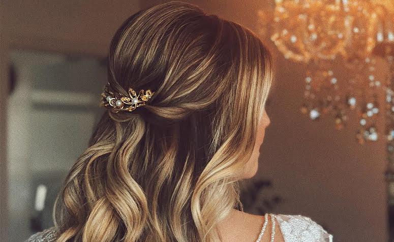 penteados simples para casamento 1