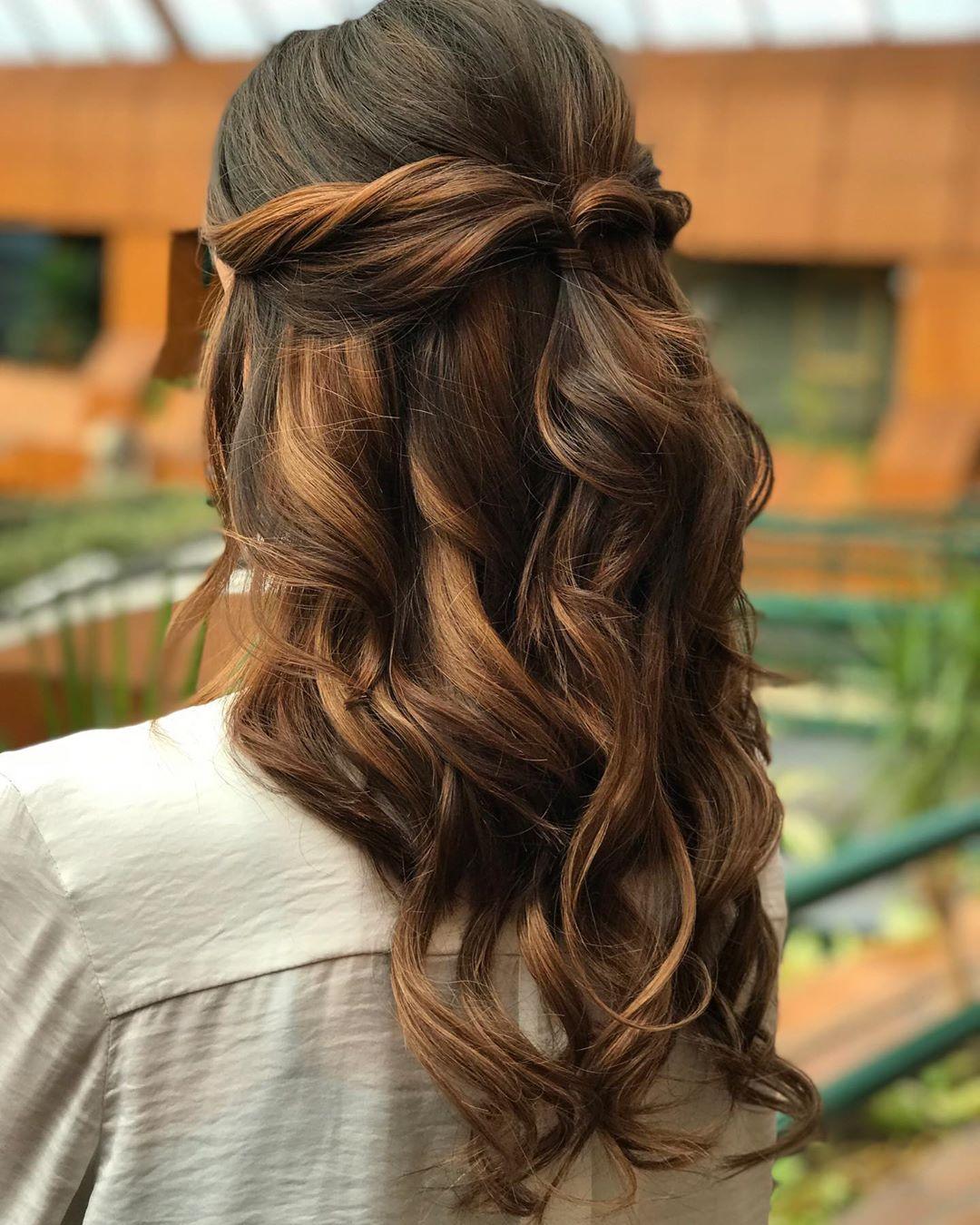 penteados soltos 50