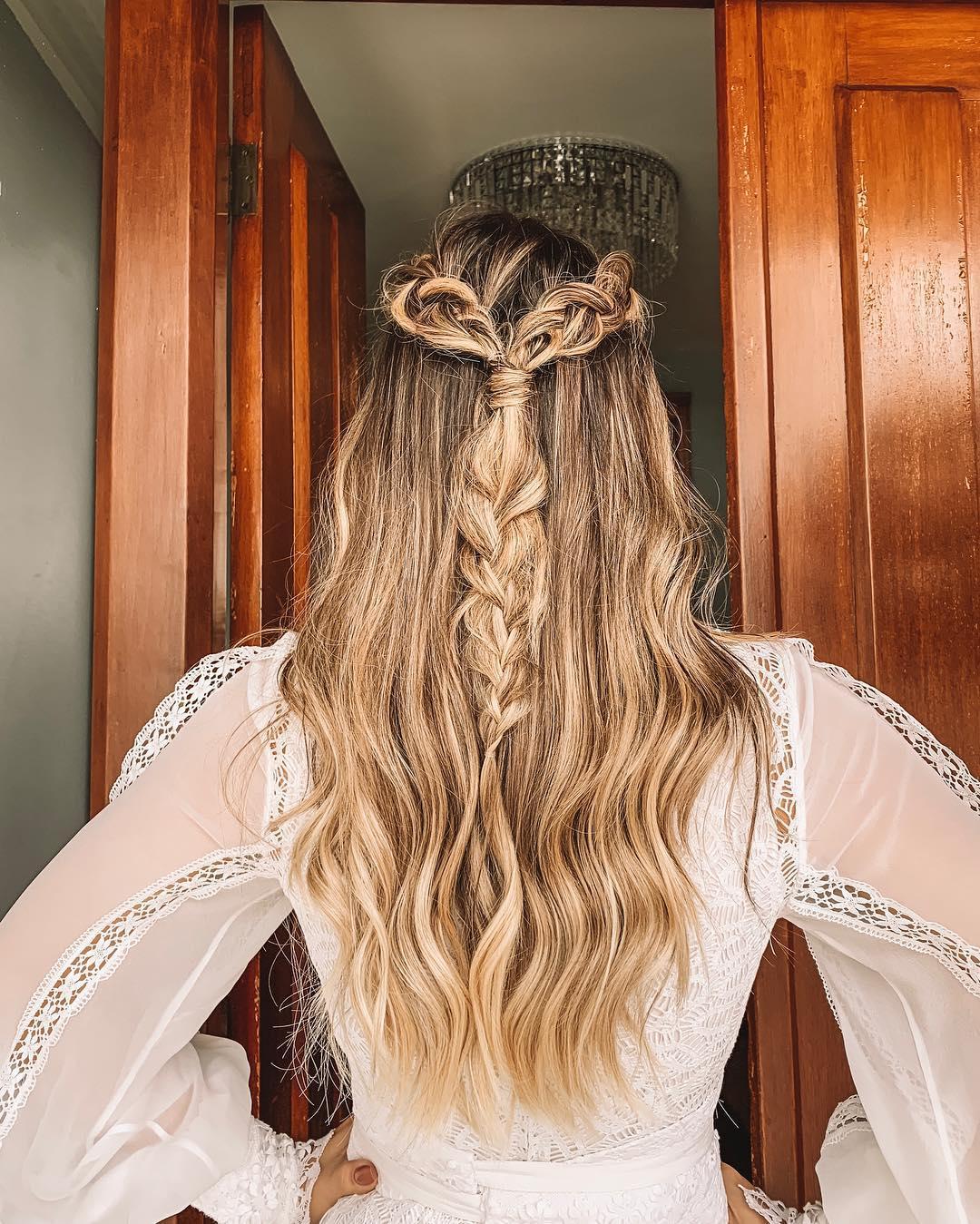 penteados soltos 55