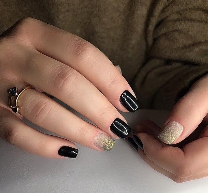 unhas pretas decoradas 27