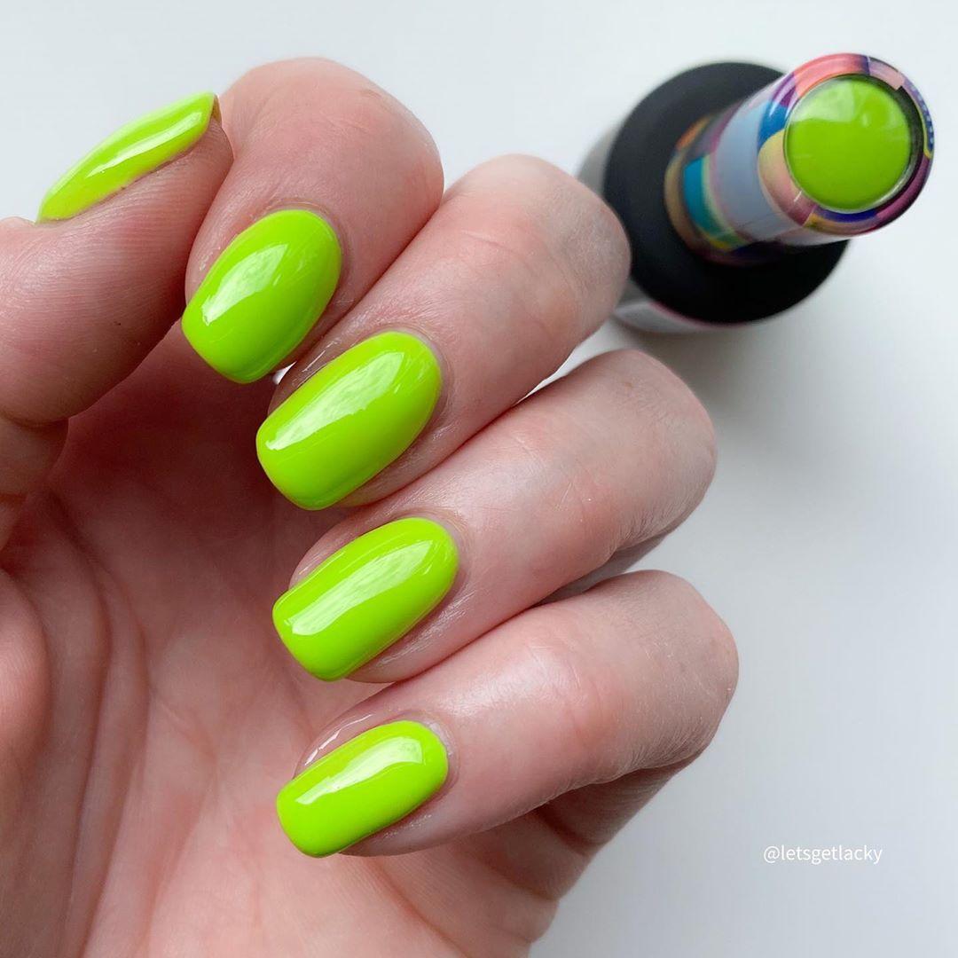 unhas neon 5