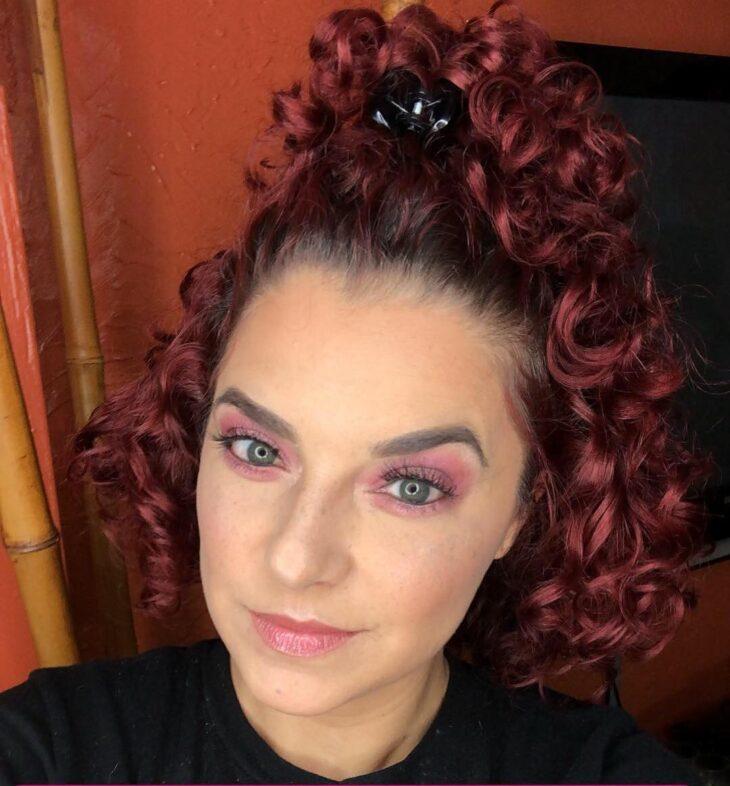 45 fotos e tutoriais de penteados para cabelo cacheado curto - 39
