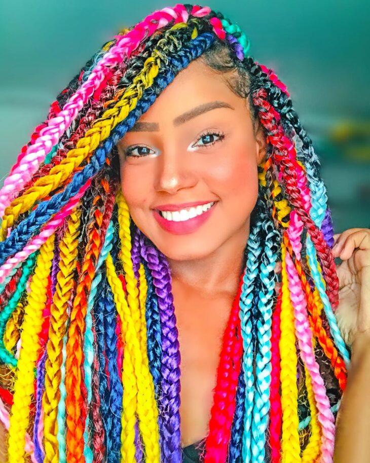 Box braids: 30 modelos, dicas, tutoriais e cuidados necessários - 12