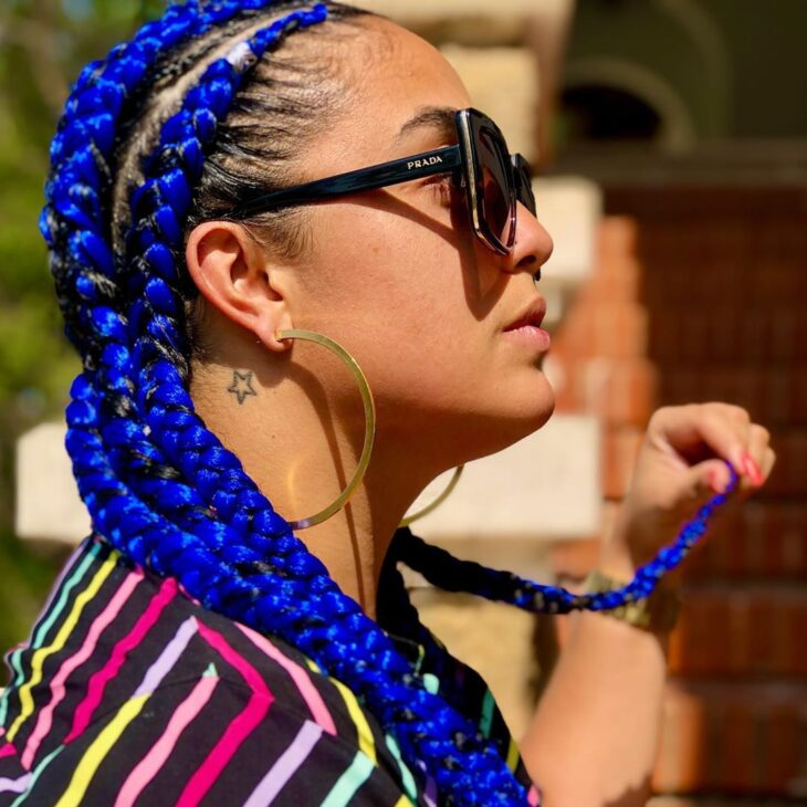 Box braids: 30 modelos, dicas, tutoriais e cuidados necessários - 19