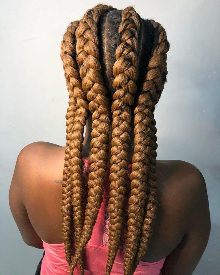 Box braids: 30 modelos, dicas, tutoriais e cuidados necessários - 21
