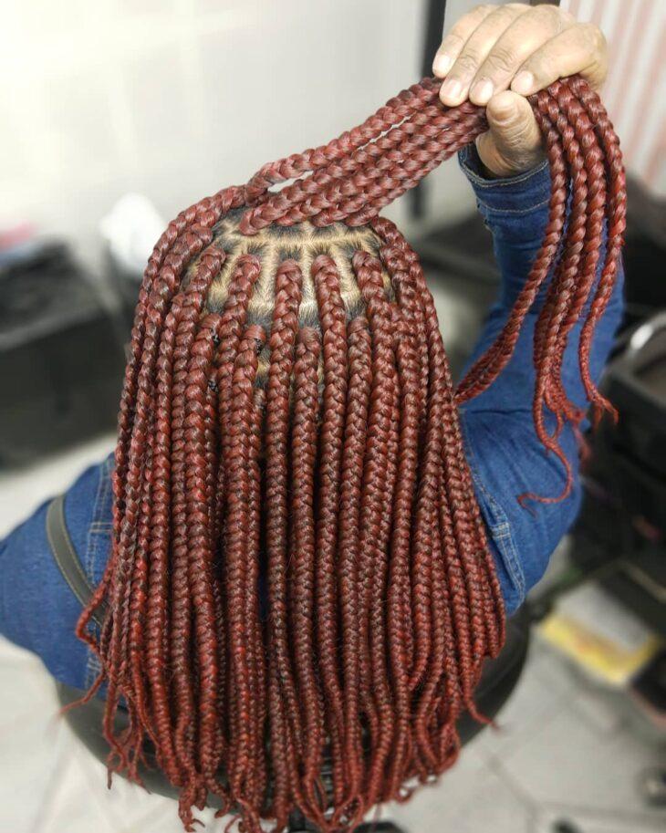 Box braids: 30 modelos, dicas, tutoriais e cuidados necessários - 24