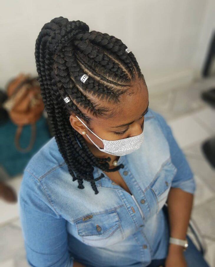 Box braids: 30 modelos, dicas, tutoriais e cuidados necessários - 25