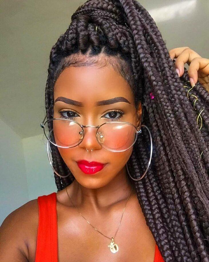 Box braids: 30 modelos, dicas, tutoriais e cuidados necessários - 26