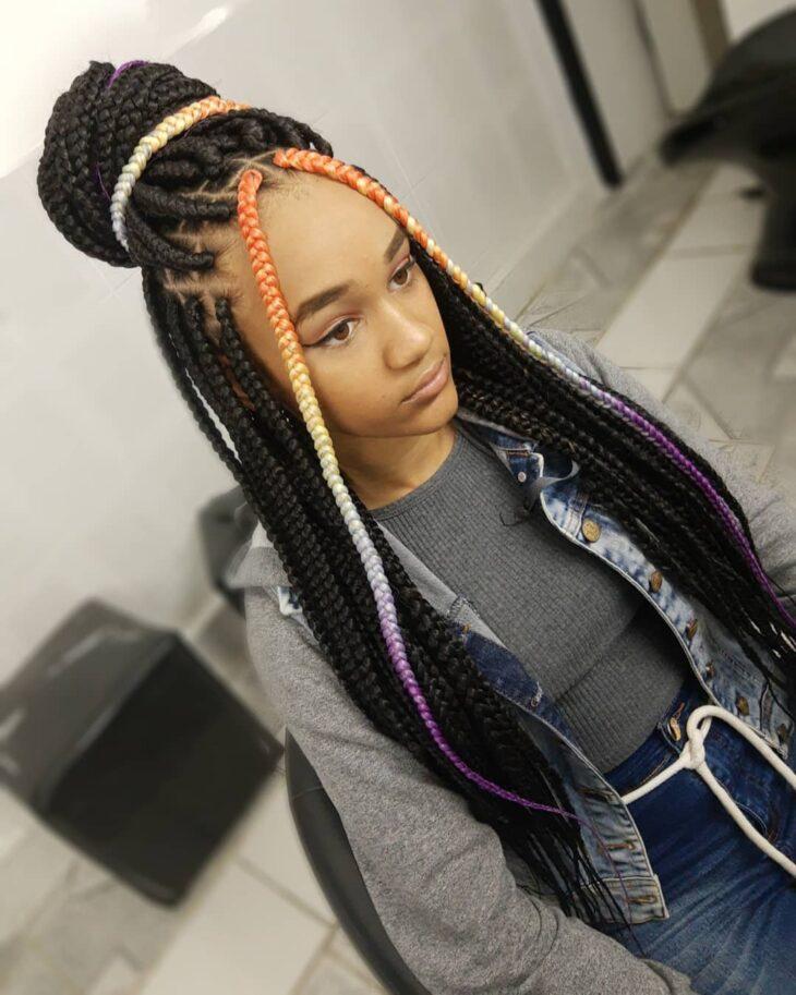 Box braids: 30 modelos, dicas, tutoriais e cuidados necessários - 27