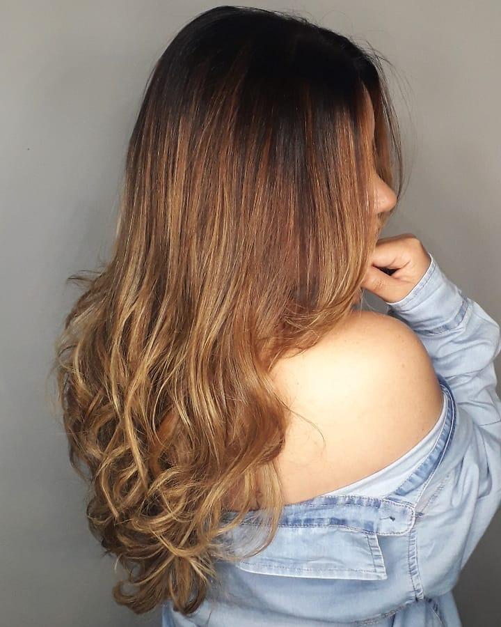 ombré hair loiro 16