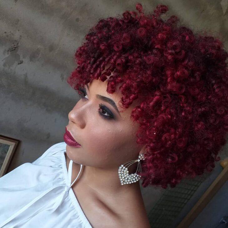 cabelo cacheado vermelho 34