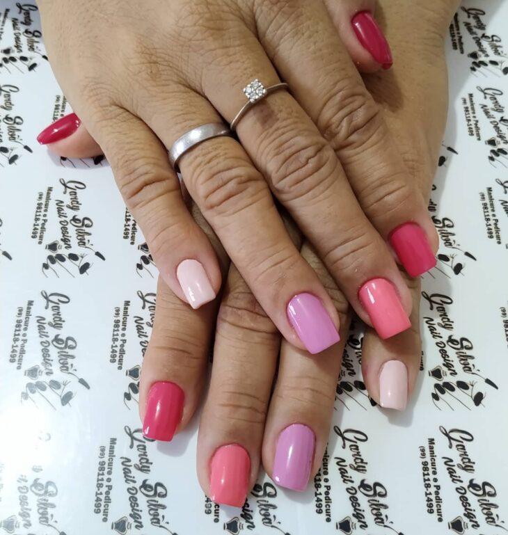 90 unhas decoradas rosa que unem delicadeza e estilo - 11