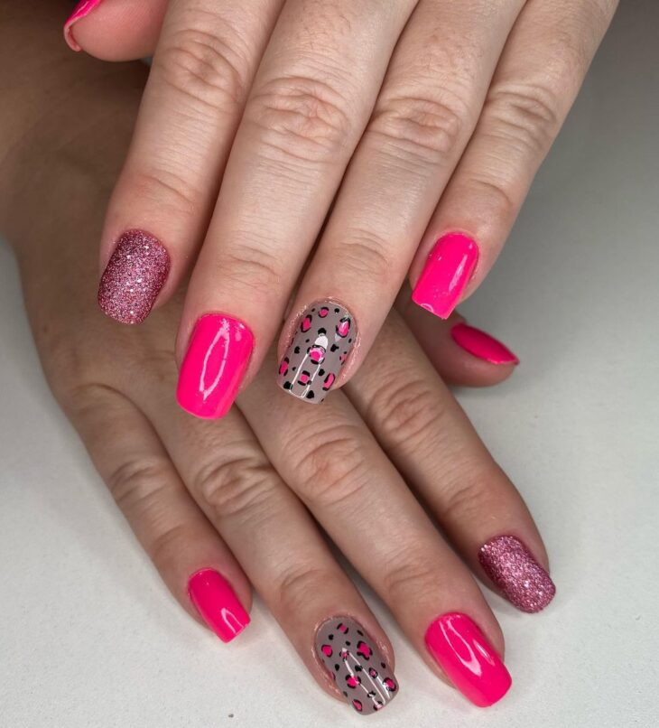 90 unhas decoradas rosa que unem delicadeza e estilo - 8