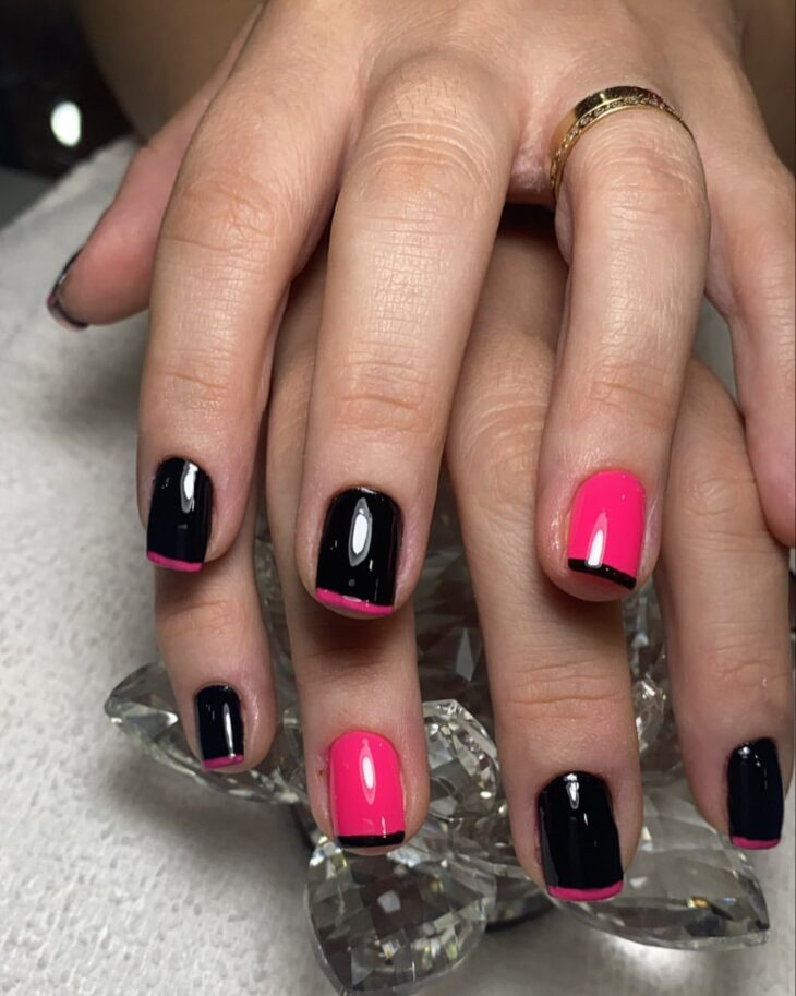 90 unhas decoradas rosa que unem delicadeza e estilo - 90