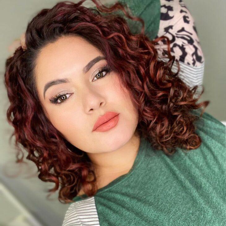 cabelo cacheado ruivo 39