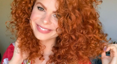 40 fotos de cabelo cacheado ruivo que provam o seu poder
