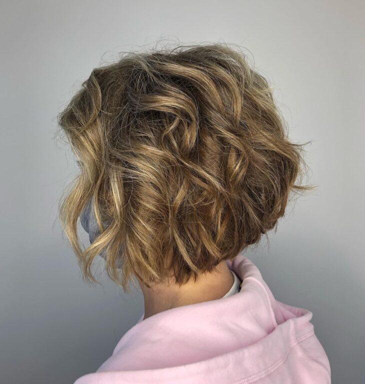 cabelo curto ondulado 33
