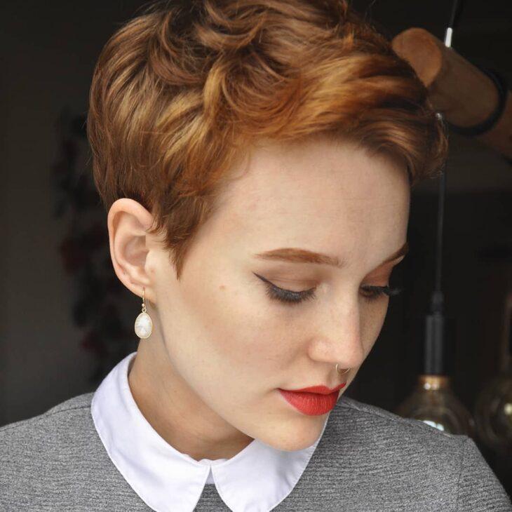 cabelo curto ondulado 50