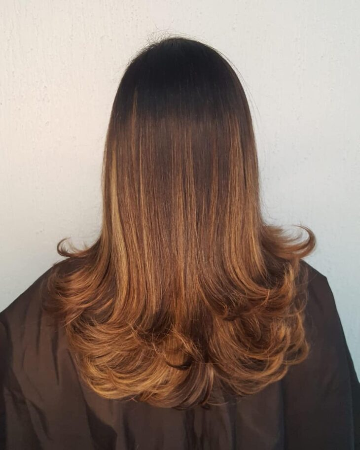cabelo longo repicado 35