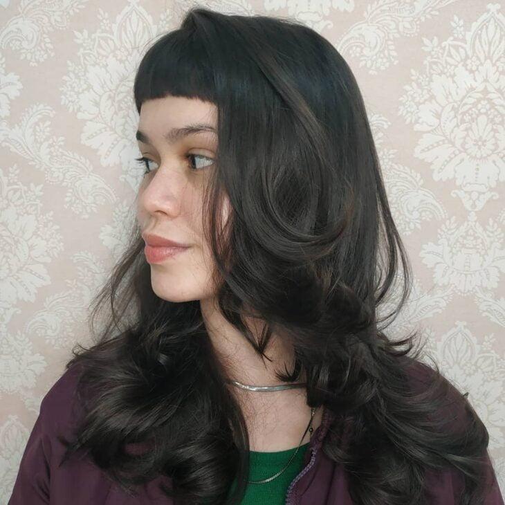 cabelo longo repicado 36