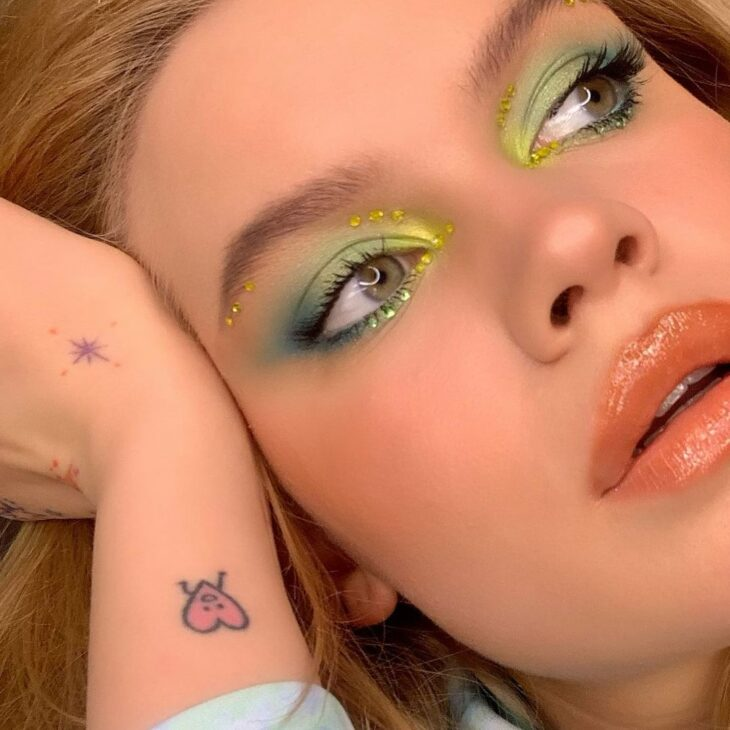 maquiagem verde 6