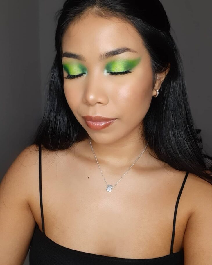 maquiagem verde 21