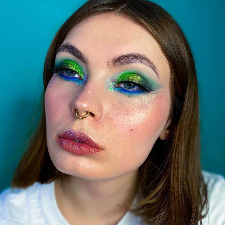 maquiagem verde 11