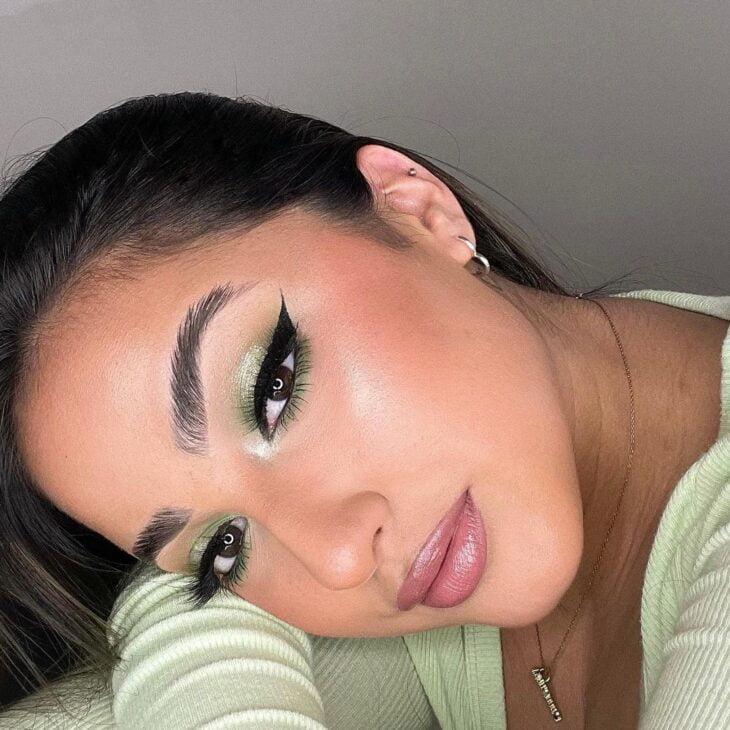 maquiagem verde 12