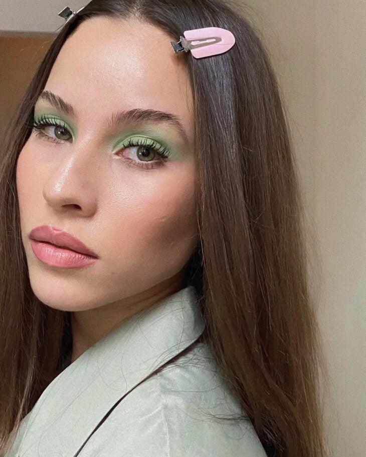 maquiagem verde 2