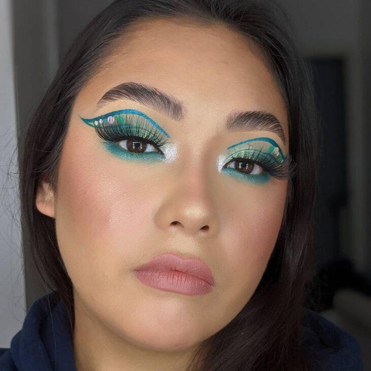 maquiagem verde 31