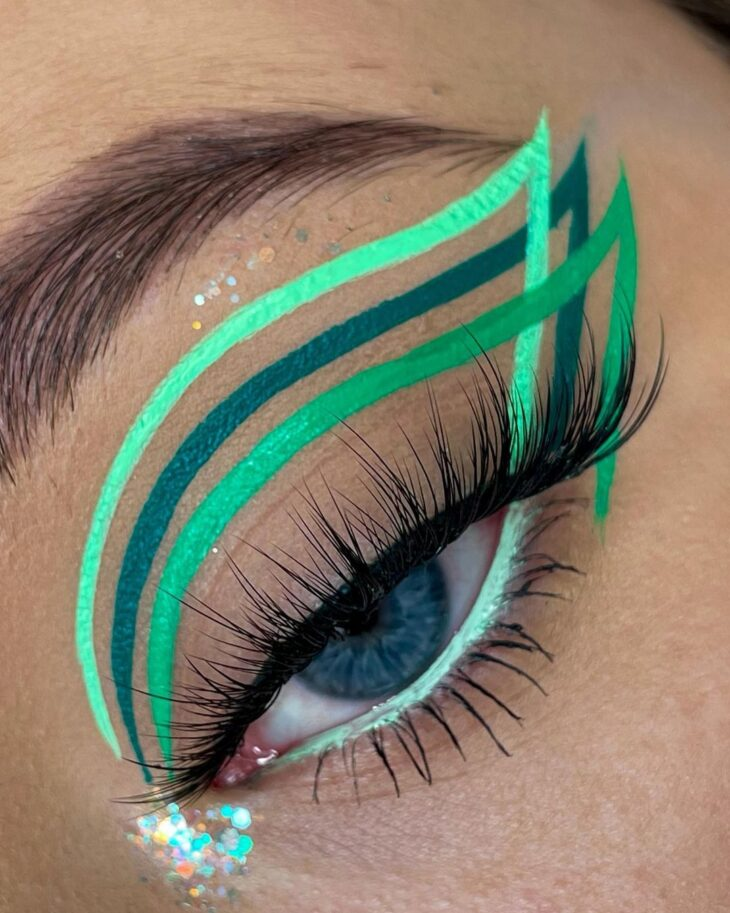 maquiagem verde 25
