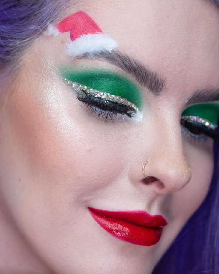 maquiagem verde 28