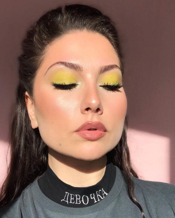 maquiagem verde 3