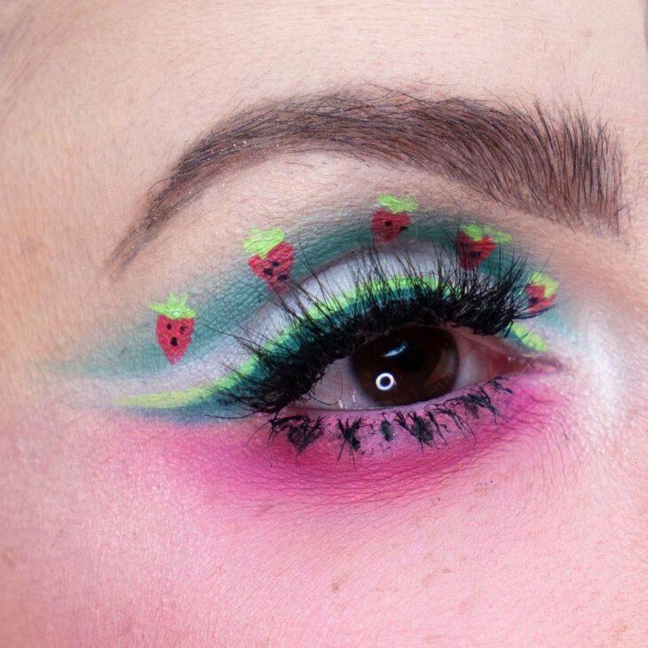 maquiagem verde 29