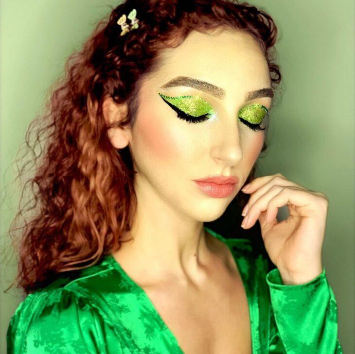 maquiagem verde 22
