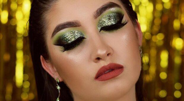 Aprenda como fazer maquiagem verde e veja fotos de inspiração