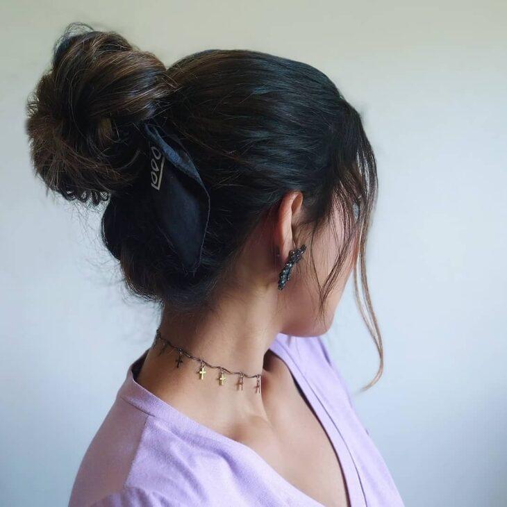 penteados com bandana 18