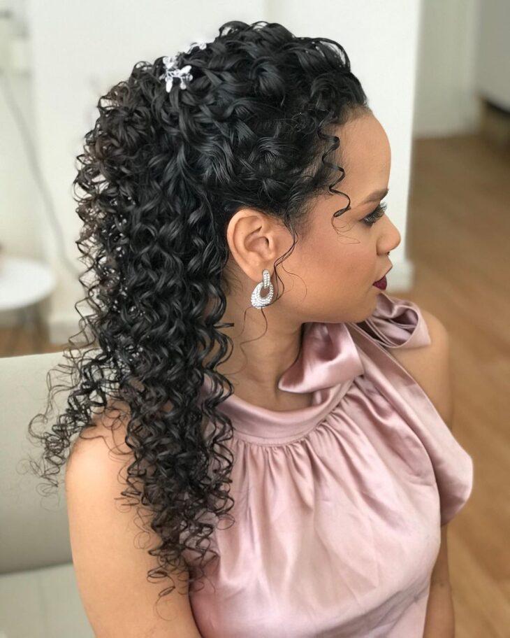 penteados para mãe da noiva 34