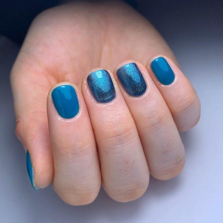 40 fotos + tutoriais de unhas coloridas para inovar na nail art - 5