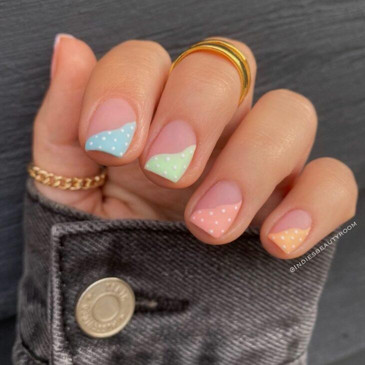 40 fotos + tutoriais de unhas coloridas para inovar na nail art - 15