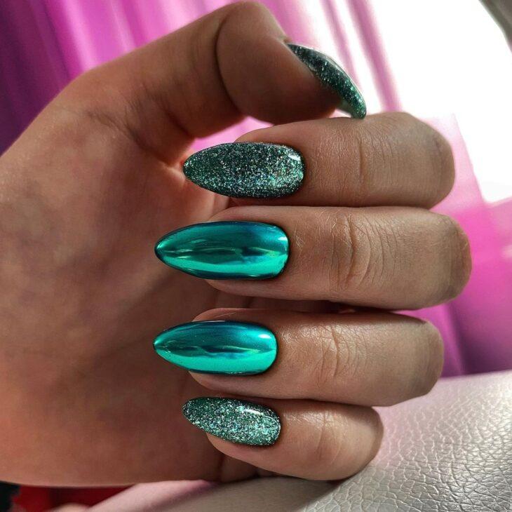 40 fotos + tutoriais de unhas coloridas para inovar na nail art - 8