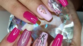 90 unhas decoradas rosa que unem delicadeza e estilo