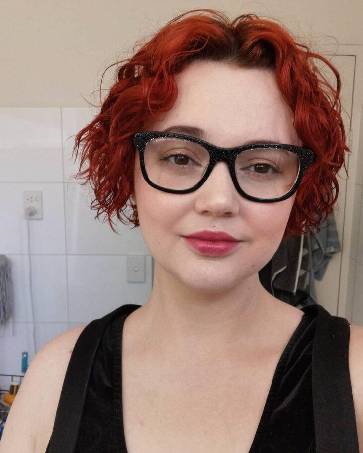 cabelo curto ondulado 34