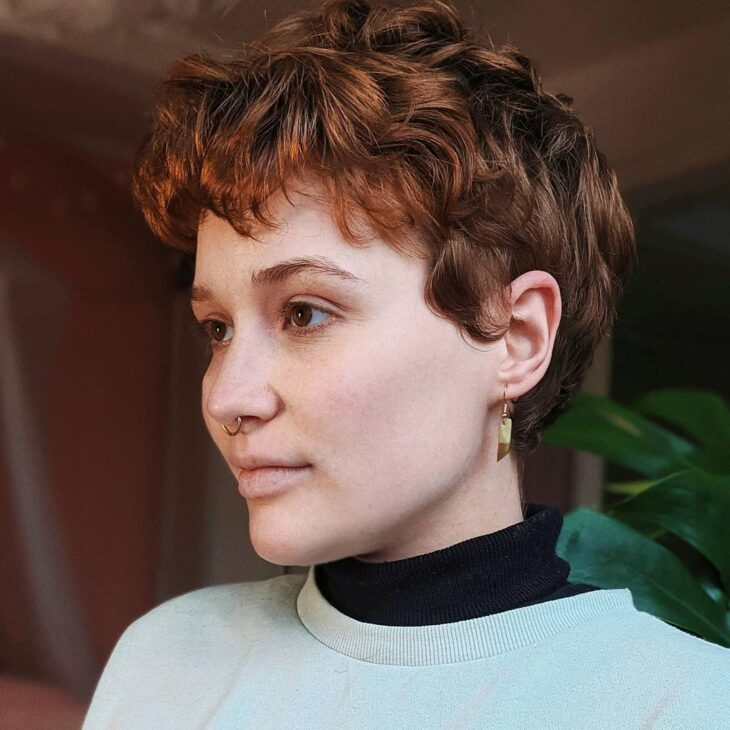 cabelo curto ondulado 43