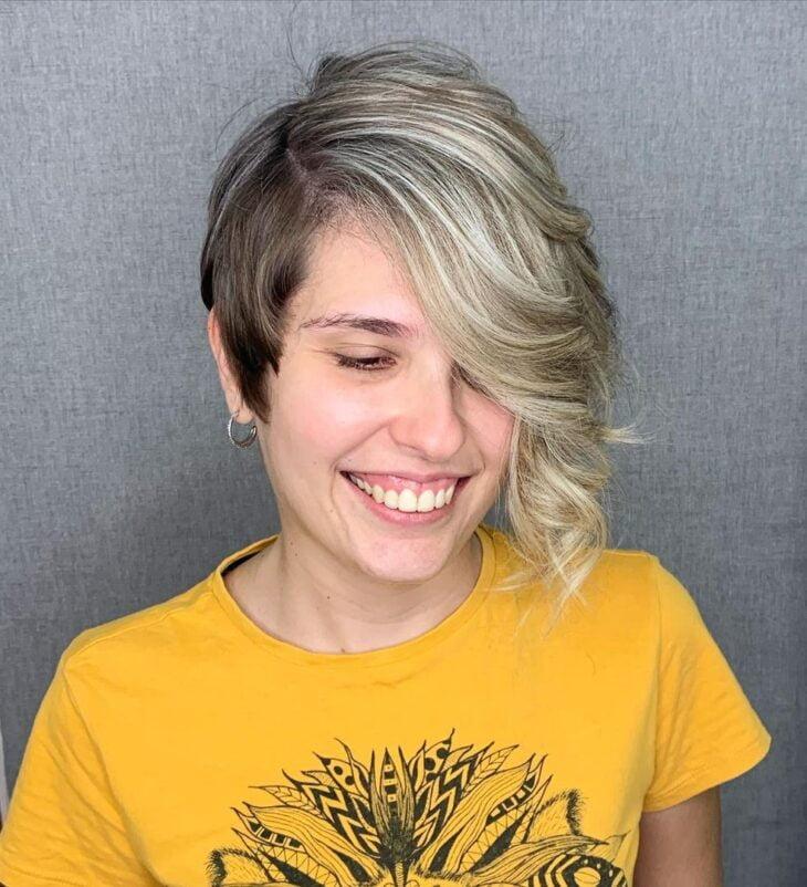 cabelo curto ondulado 46