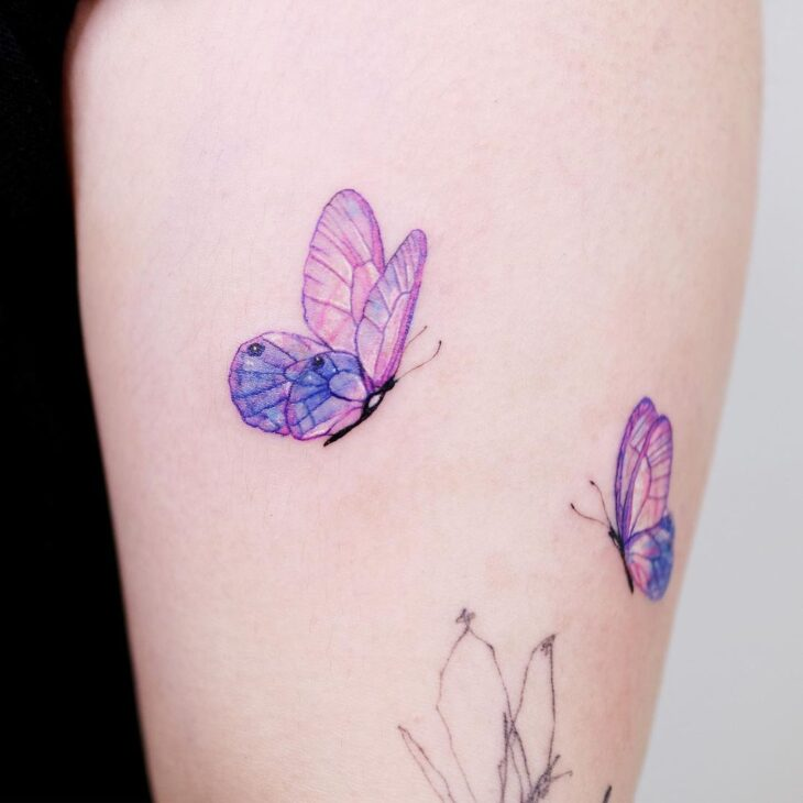 tatuagem de borboleta 5