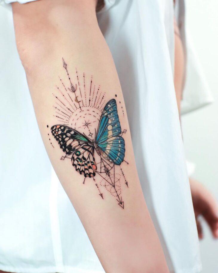 tatuagem de borboleta 7