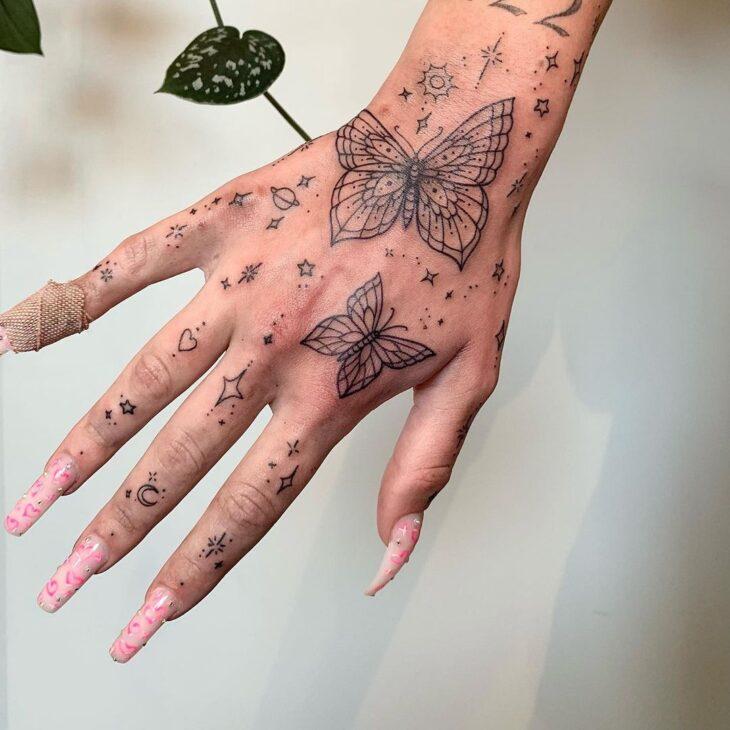 tatuagem de borboleta 9