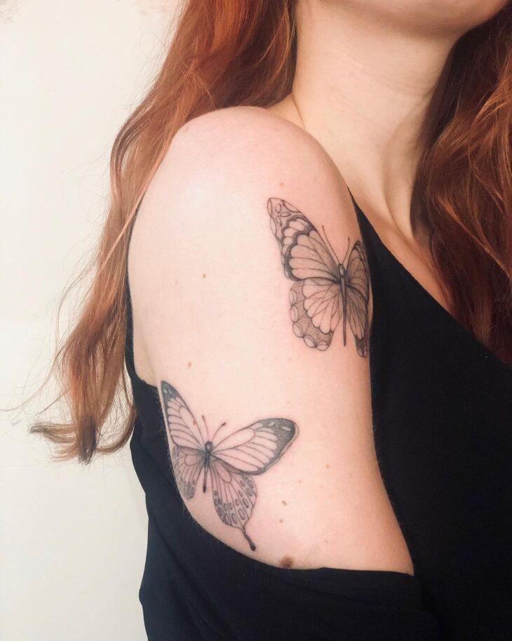 tatuagem de borboleta 104