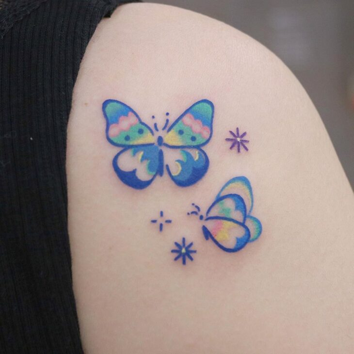 tatuagem de borboleta 107